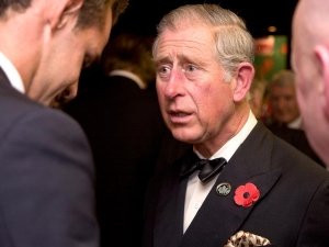 Prince Charles at Welsh Charitables RFC